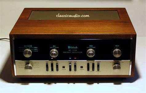 classicaudio.com..... For Sale..... McIntosh MA-5100