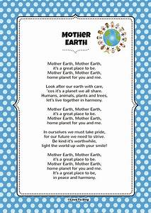 Mother Earth   Kids Video Song with FREE Lyrics & Activities!