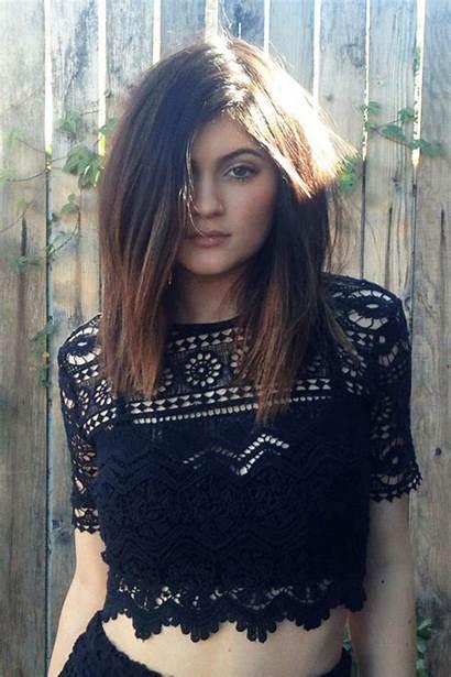 Kylie Jenner Hair Short Length Mid Hairstyles