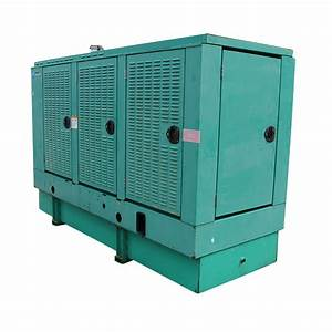 100 Kw Used Diesel Generator Cummins 6bt5 9 Dgdb 240 Volt 1 Or 3 Phase