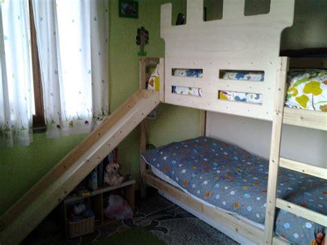 Trasformare Un Letto Ikea Mydal In Letto Con Scivolo E