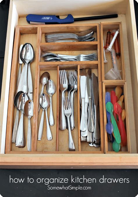 best way to organize kitchen drawers how to organize kitchen drawers somewhat simple 9240
