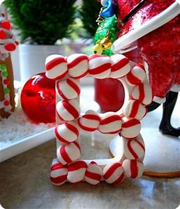 25 DIY Christmas Crafts using Candy Canes and Peppermints
