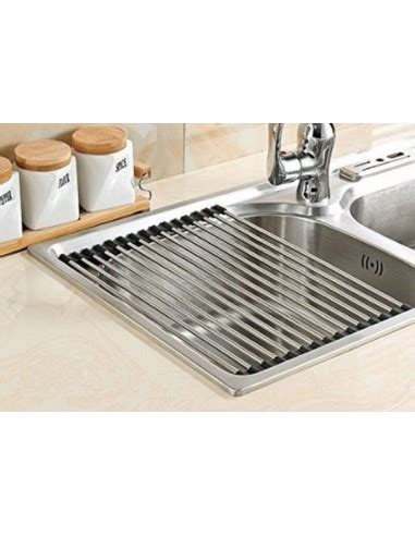 kitchen sink drainer mat stainless steel roll mat sink drainer accessory suits 5760