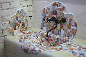 Mosaikbilder Selber Machen : h tten sie gern ein mosaik waschbecken aus holz zu hause ~ Whattoseeinmadrid.com Haus und Dekorationen