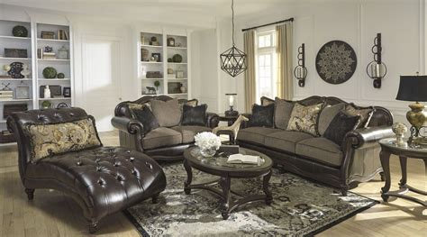 Winnsboro Durablend Vintage Living Room Set, 5560238, Ashley