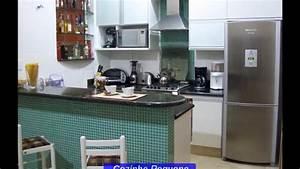 Modelo de Cozinha Pequena YouTube