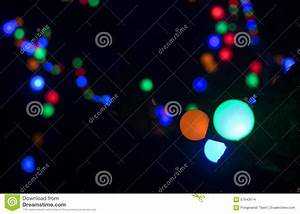 Defocused Christmas Lights Background Stock Photo - Image ...