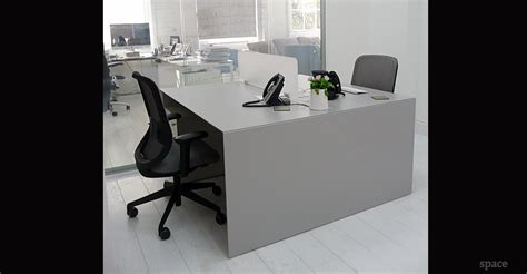 Office Desk Gray by White Office Desks Forty5 Desk 2 Person