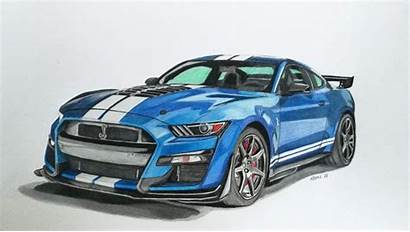 Gt500 Shelby Ford Mustang Musang Cz Draw
