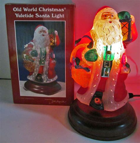 old world santa light shop collectibles online daily