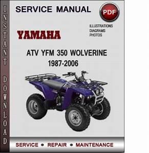 Yamaha Atv Yfm 350 Wolverine 1987