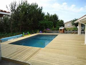 piscine sans margelle ascolour With pose margelle bois piscine