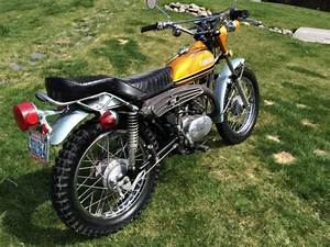 1973 Yamaha 175 Enduro  Runs  Low Miles  Title  Original