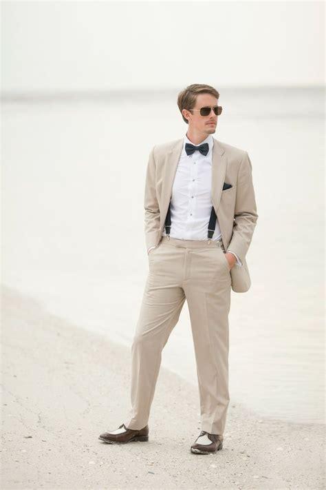 25 Best Ideas About Khaki Suit Groom On Pinterest