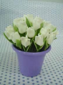 paso  paso  moldes  elaborar tulipanes  tela