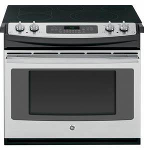 "JD750SFSS GE 30"" Drop-In Electric Convection Range ..."
