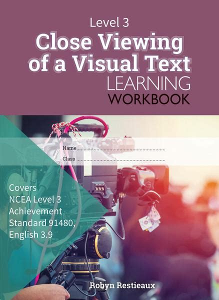 Level 3 Close Viewing of a Visual Text 3.9 Learning ...