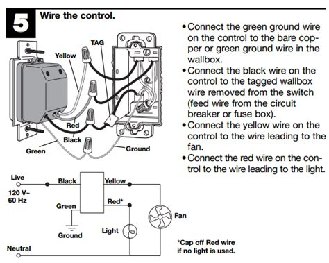 lutron fan and light control wiring electrical how do i know if a ceiling fan with light and