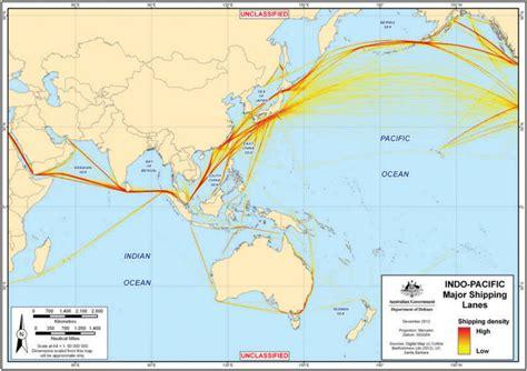Indo-pacific shipping lanes DGIO