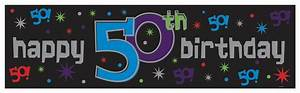 happy 50th birthday banner wwwpixsharkcom images With 50th birthday banner template