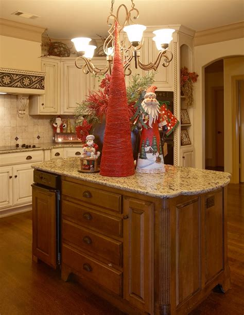 images  christmas kitchens  pinterest