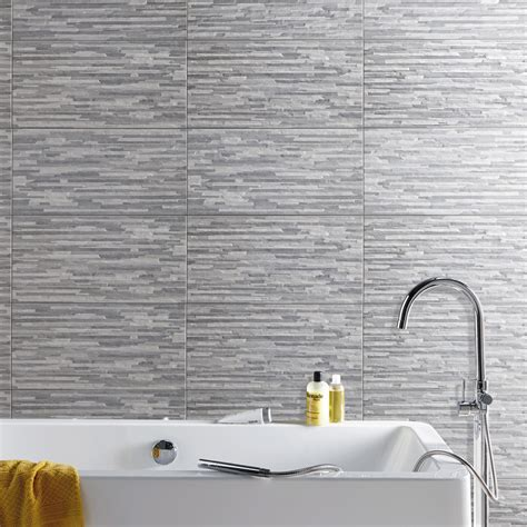 table de cuisine but magasin carrelage mur gris listello l 30 x l 60 cm leroy merlin
