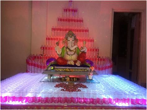 ganesh chaturthi  festival decoration