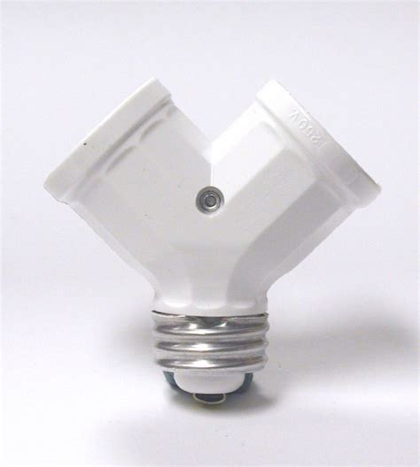 Leviton L Holder Adapter by Leviton Twinlite L Holder Adapter White The Home