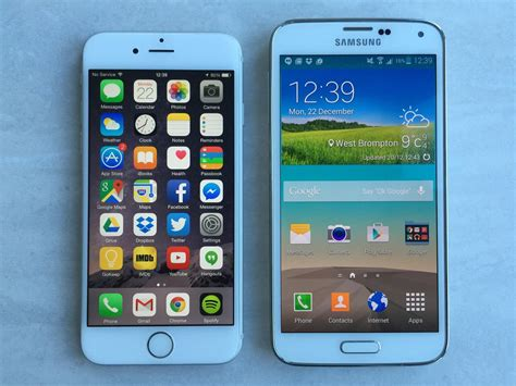 galaxy s5 vs iphone 6 iphone 6 vs galaxy s5 review apple gatecrashes samsung