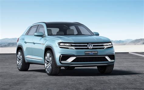Volkswagen Cross Coupe Gte Concept 2018 Wallpaper Hd Car