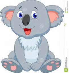 Cute Cartoon Koala Bear