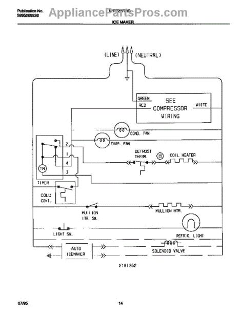 Parts For Frigidaire Wrtrrcw Ice Maker Wiring Diagram