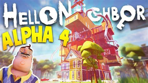 neighbor alpha   pc game  game