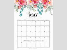 May2018calendarprintable04 Home Printables