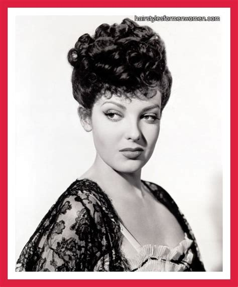 1940s Hairstyles Updo by 139 Best 1940 S Hairstyles Images On Vintage