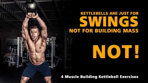 kettlebell muscle exercises kettlebells building results swings weight hypertrophy caveman dictates gives dead end