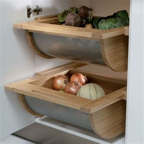 Kitchen Veg Drawers by Drawer Pull Out Storage Basket Sets Pull Out Fittings