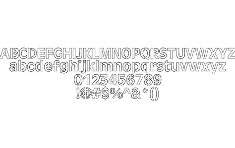 laser font dxf file   axisco
