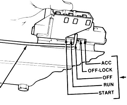 Connector View With Wiring For Ignition Switch