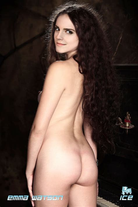 Emma Watson Nude Possing Her Sexy Back And Ass Fake