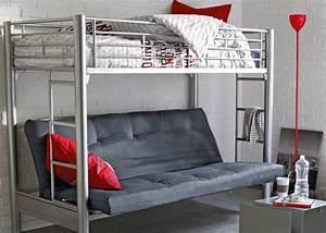 lit 2 places ado lit deux places pour ado lits lit With canap2 d4angle