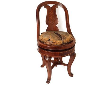 chaise musical superbe chaise de harpiste charles x acajou dossier lyre