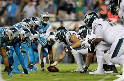 Eagles Philadelphia Panthers Carolina Defense Power Elite