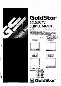 Goldstar Tv Pc04a Chassis Service Manual Download