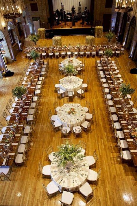 wedding reception table layout ideas a mix of rectangular
