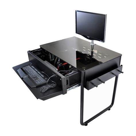 bureau pour pc des boîtiers pour pc intégrés dans le bureau eavs
