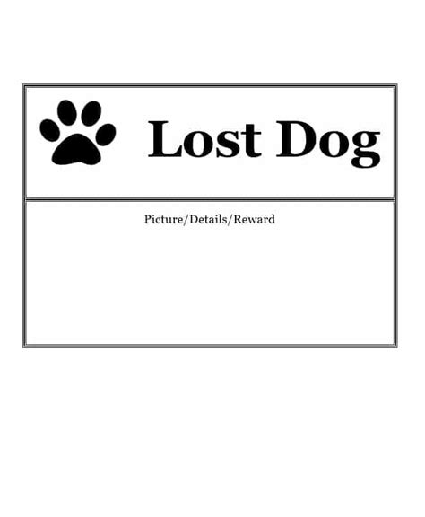 lost template 40 lost pet flyers missing cat poster template archive