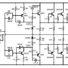 Stereo Power Amplifier Circuit Hubby
