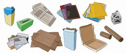 Paper Recycling Items Recycle Clean Cardboard Recyclable